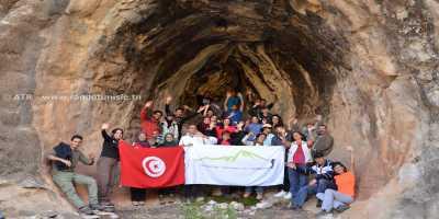 Randonnée à Ain Khanfous Oueslatia - photo de groupe