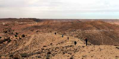 Circuit randonnée Zammour - paysage
